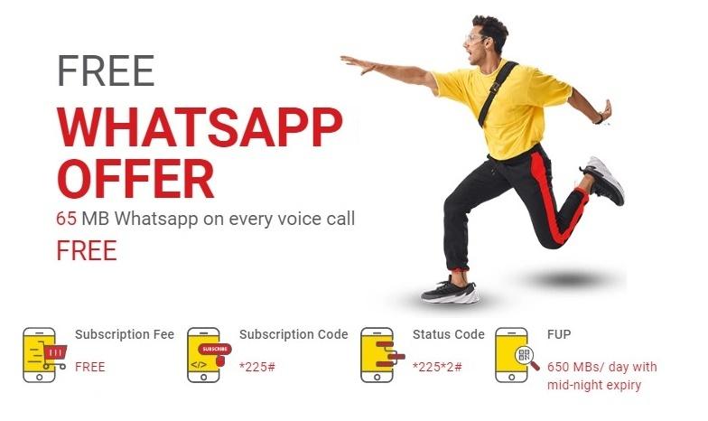 Jazz Free WhatsApp Offer