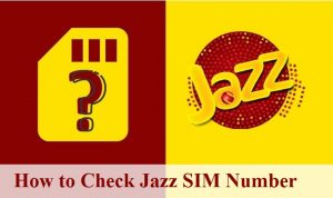 How to check Jazz SIM number free