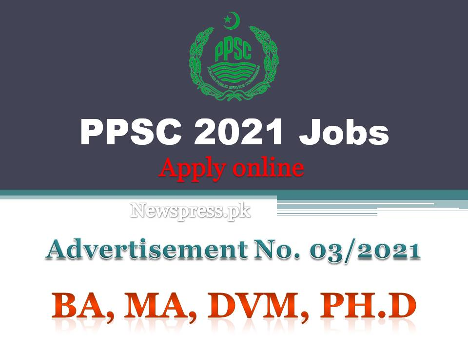 Livestock and Forestry Department PPSC Jobs 2021