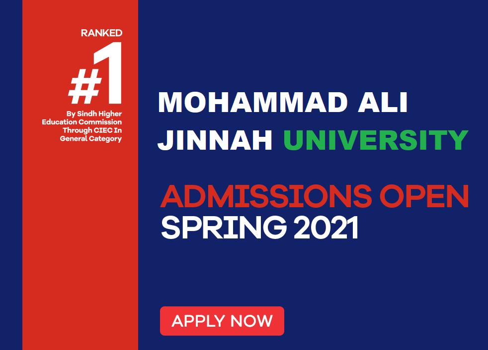 MAJU Karachi Spring 2021 Admissions, Schedule, Fee