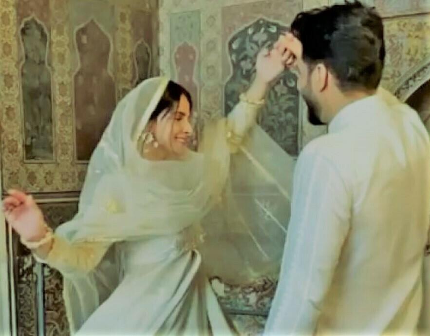 Saba Qamar Bilal Saeed Dance Video